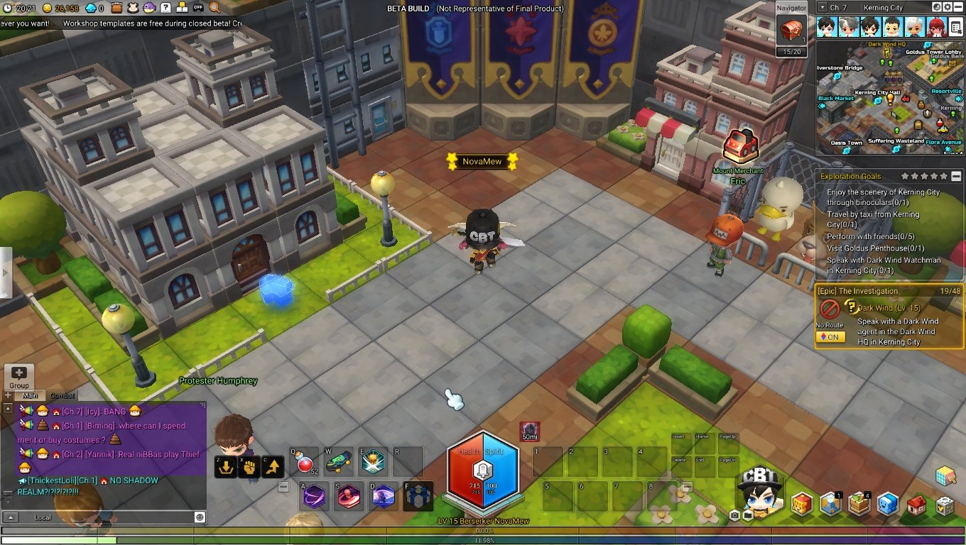 Did any of you try Nexon's MapleStory 2 CBT? - Games and